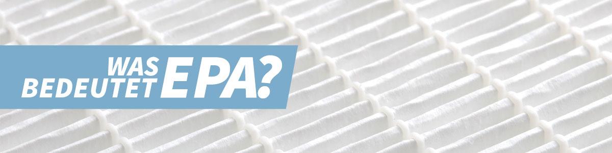 Was bedeutet EPA?